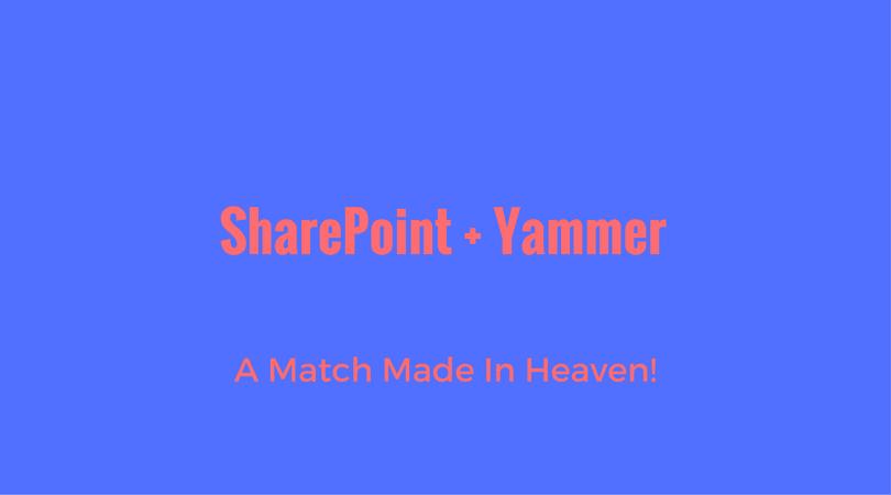 SharePoint + Yammer