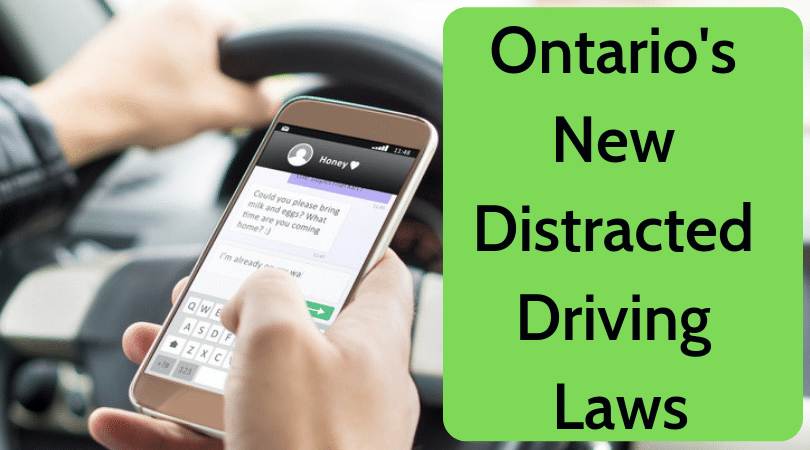 Ontario's New Distracted Driving Laws